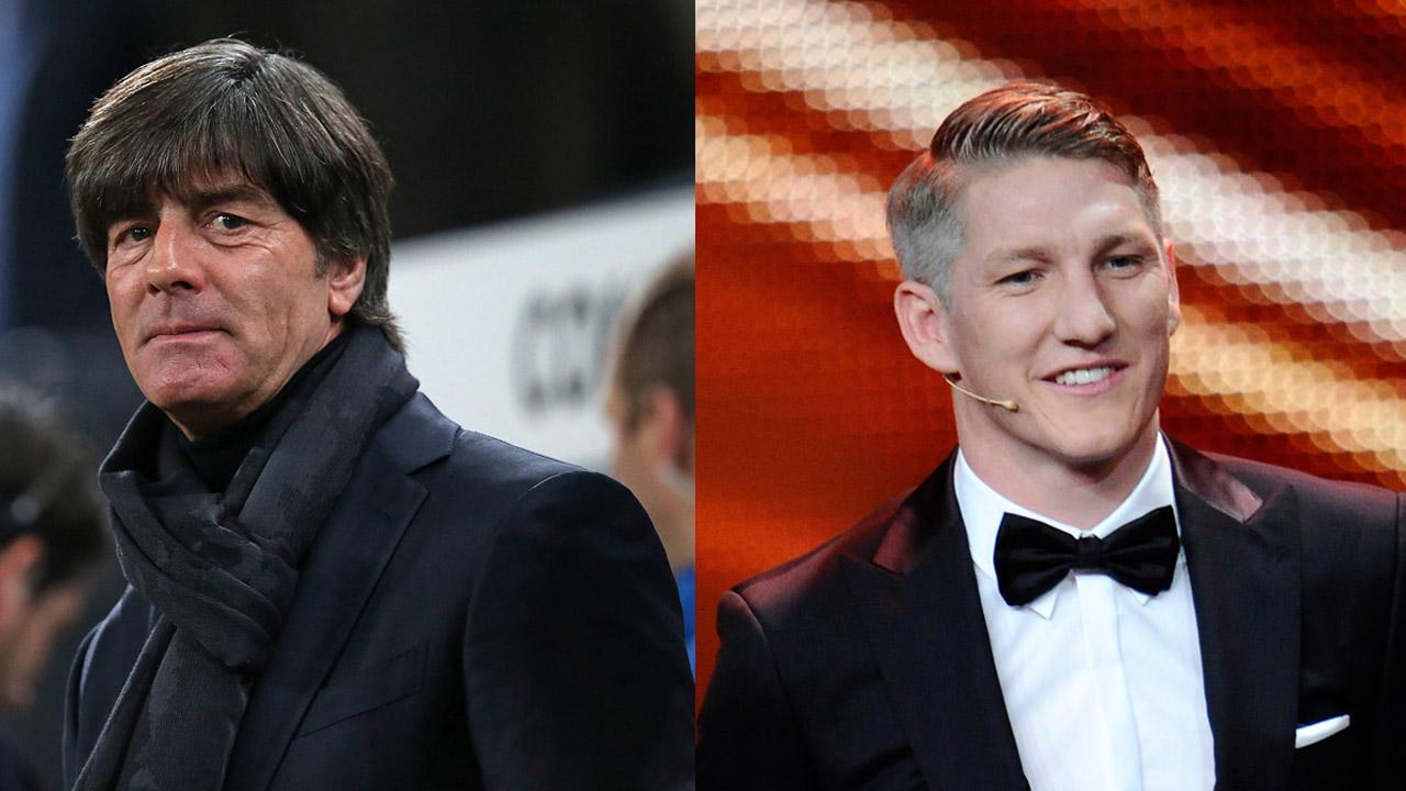 Joachim Löw (c) imago und Sebastian Schweinsteiger (c) HBM
