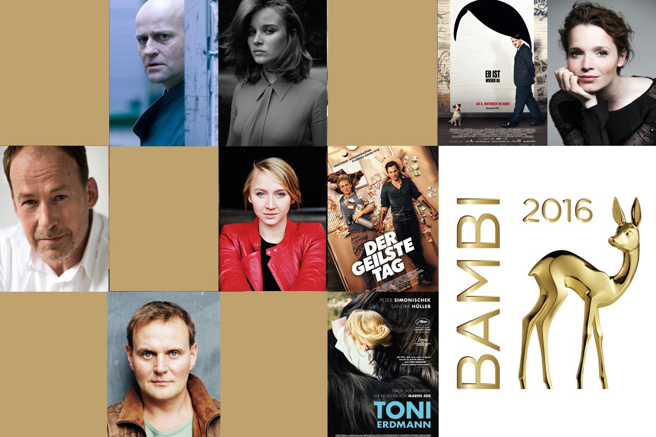 Die Nominierten in der Kategorie Schauspieler/-in und Film National stehen fest