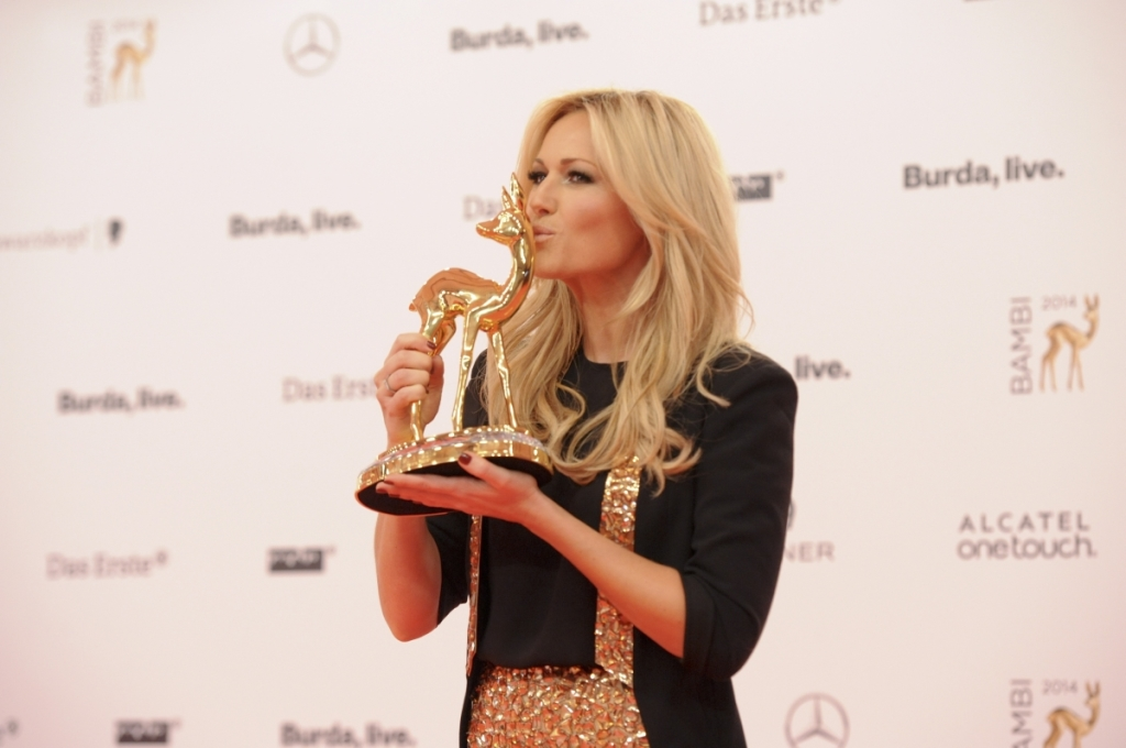 Helene Fischer Verleihung des BAMBI 2014 im Theater am Potsdamer Platz in Berlin am 13.11.2014 (c) Hubert Burda Media:BAMBI 2014, 13.11.2014, Berlin