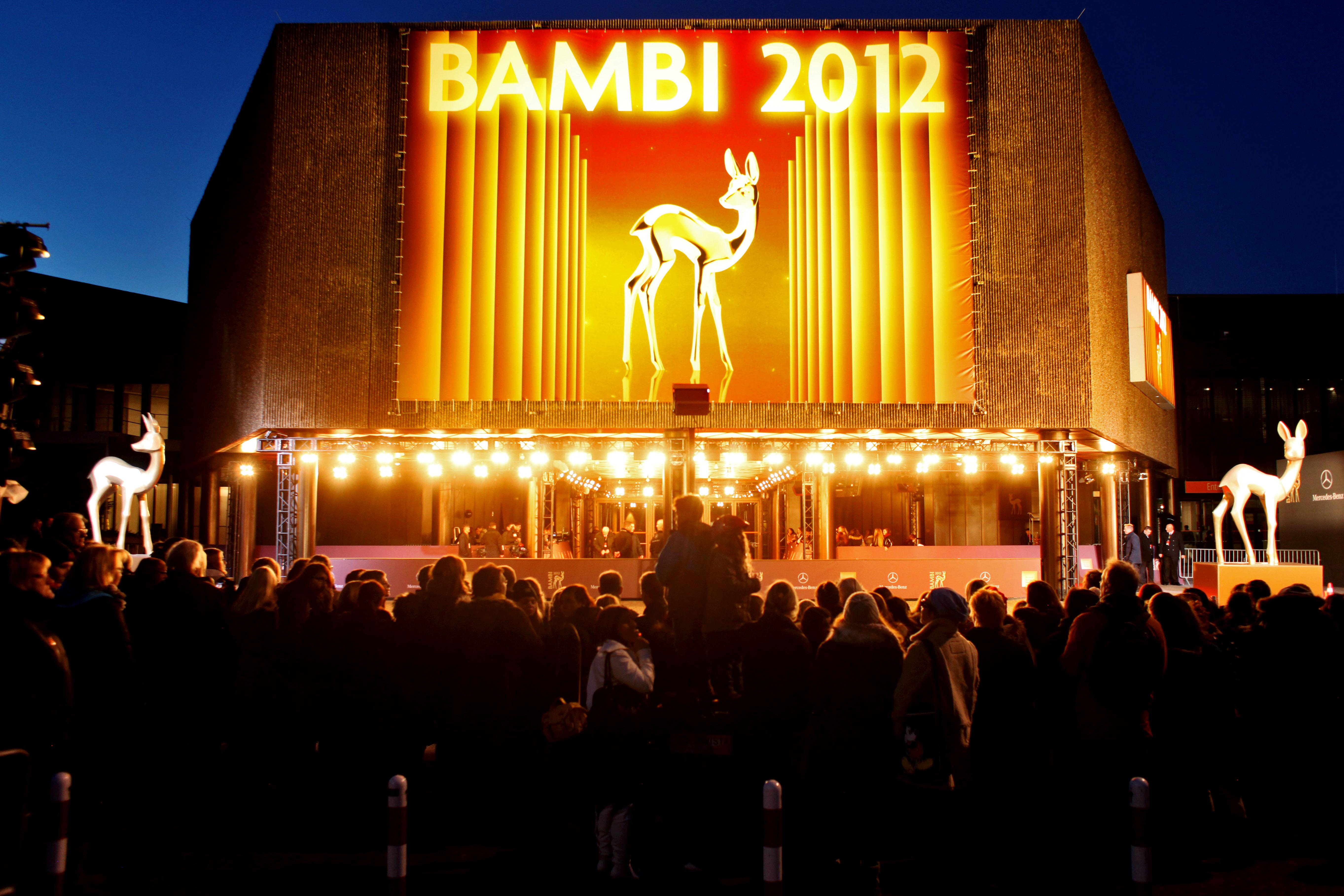 BAMBI 2012 fand am 22. November in der Rheinmetropole Düsseldorf statt © Hubert Burda Media