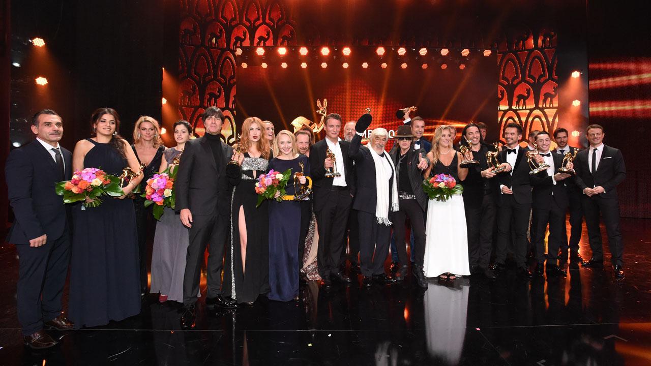 Abschlussbild der 68. BAMBI-Verleihung