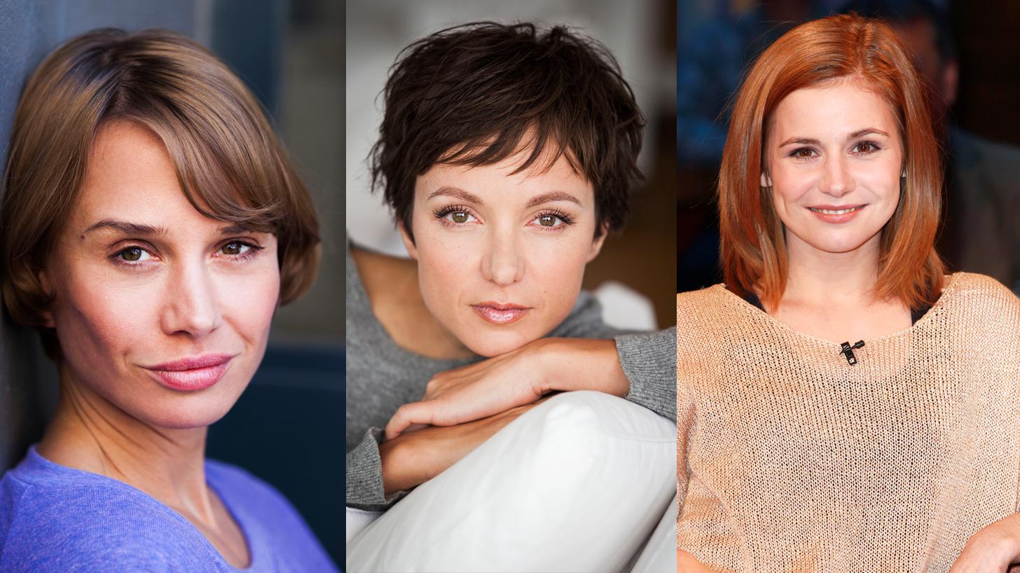 """Nominiert für den BAMBI in der Kategorie """"Schauspielerin National"""": Nadeshda Brennicke, Julia Koschitz und Josefine Preuß"""