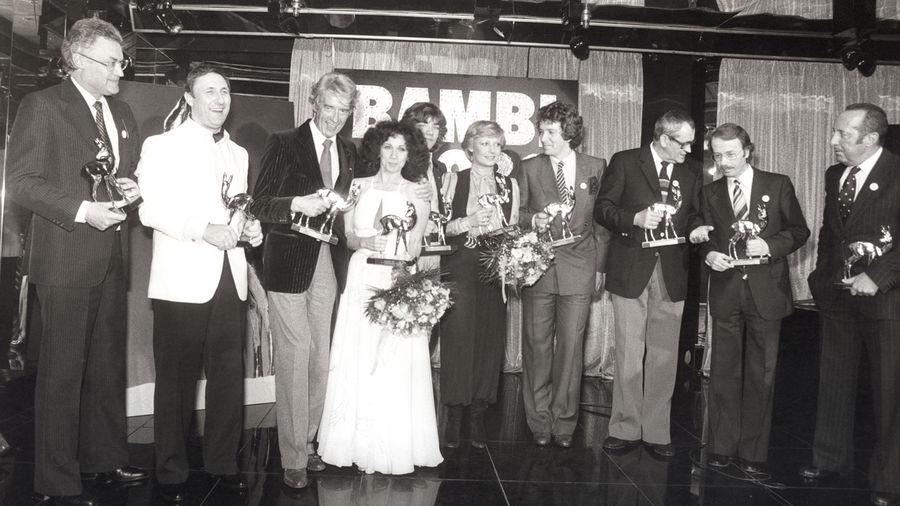 BAMBI 1979: Erstmals wurde der Fernsehpreis in einem Münchner Nachtclub verliehen