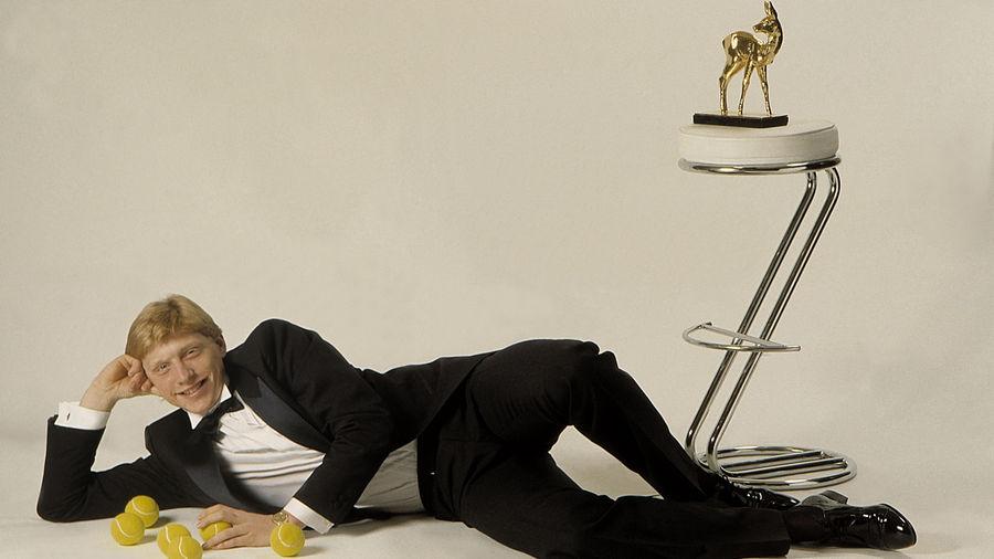 Der Mann des Jahres: BAMBI-Sieger Boris Becker – inszeniert für die BUNTE.