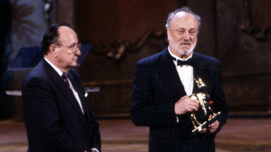 BAMBI 1990: Leipzig feiert Hans-Dietrich Genscher