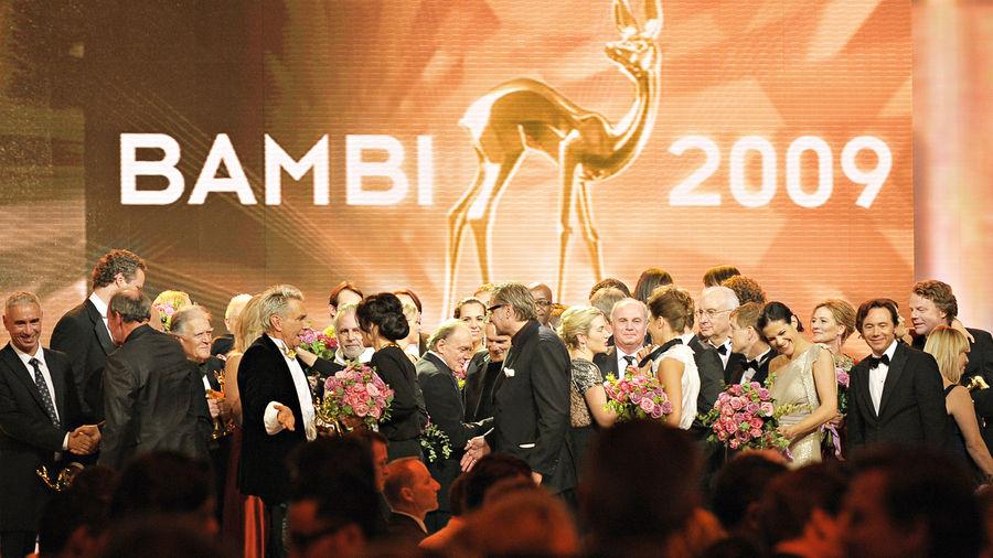 Glanz für Potsdam: Die BAMBI-Verleihung 2009