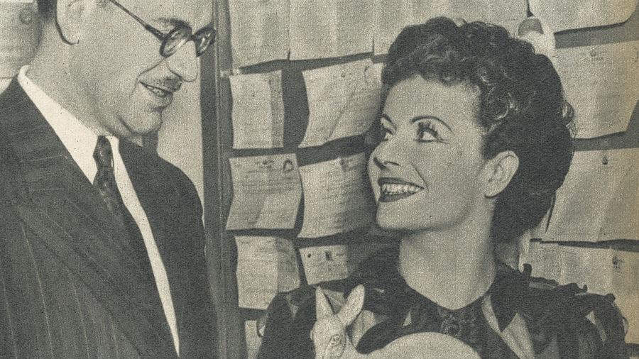 Margaret Lockwood erhielt den Bambi 1949