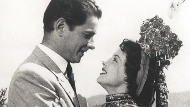 Die Bambi-Sieger Sonja Ziemann und Rudolf Prack