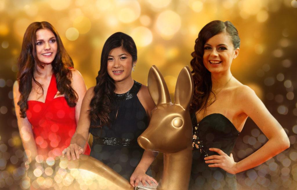 Alle Miss BAMBIS vereint: Jenny (gewann 2011), Nhung (2012) und Sue (2013)