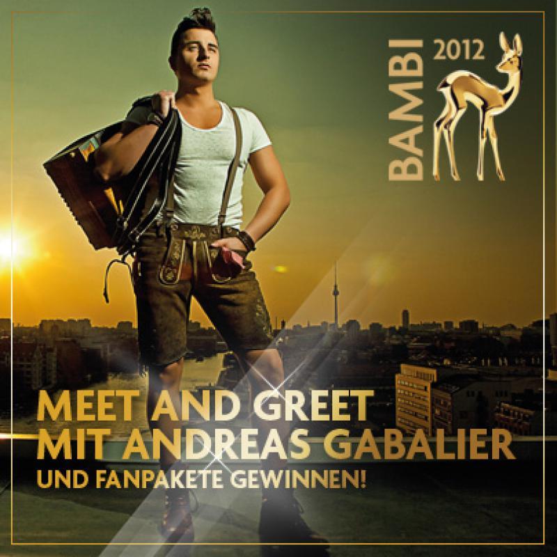 Meet Greet Volks Rocknroller Andreas Gabalier Treffen Bambi